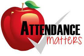 Apple with check mark - Attendance Matters
